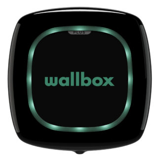 Wallbox Pulsa Plus Black Ansicht Vorne