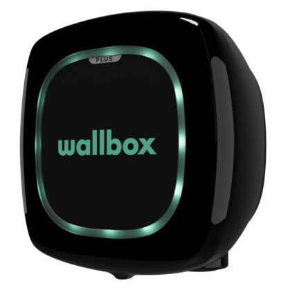 Wallbox Pulsa Plus Black Ansicht Seitlich