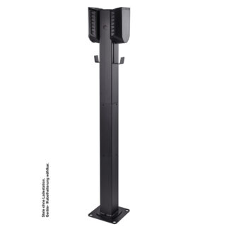 pro charge stele standfuß easee home charge wallbox
